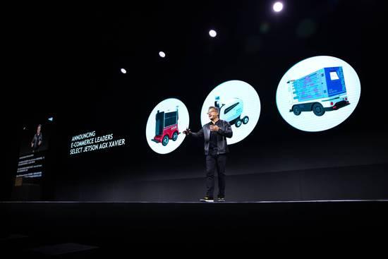 英伟达展示最新Jetson平台 布局中国物流配送机器人市场