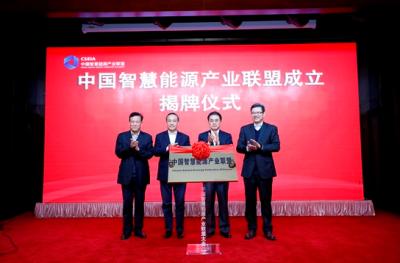 中国智慧能源产业联盟成立 推动智慧能源领域创新发展