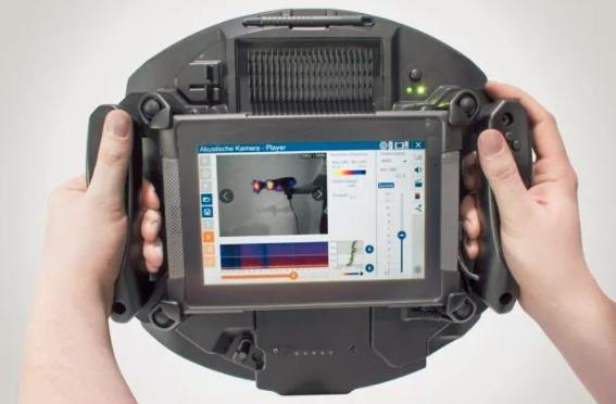 世界首款声音摄像机:一拍就能找到声源 让你看到声音!
