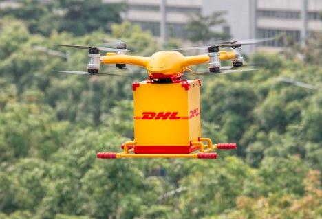 无人机送快递实现首航!亿航发布全自动智能无人机物流解决方案