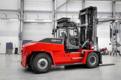卡尔玛推出采用零排放锂离子电池技术的中型电动叉车