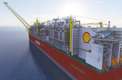 壳牌于欧洲的第一艘液化天然气船开始进行首次加油作业