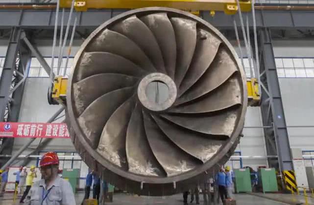 百万千瓦水轮机大功告成