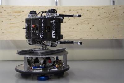 苏黎世联邦理工学院设计出低重力跳跃机器人SpaceBok