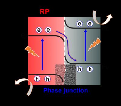 中科院理化所黑磷/红磷异相结光催化水分解产氢获新进展