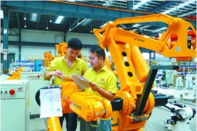 埃夫特的科创板上市申请被上交所受理,工业机器人行业领先