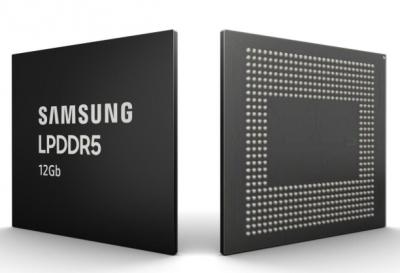 三星正式量产12Gb LPDDR5内存颗粒,实力助攻5G手机时代