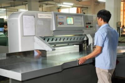 青岛金叶研发出螺旋式数控双刀切纸机,并获国家多项专利