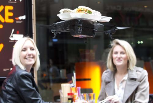 FAA批准两家航空公司在北卡罗来纳州开始无人机送餐服务