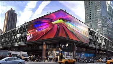 户外广告LED屏安全隐患引拆屏之风 急需技术升级