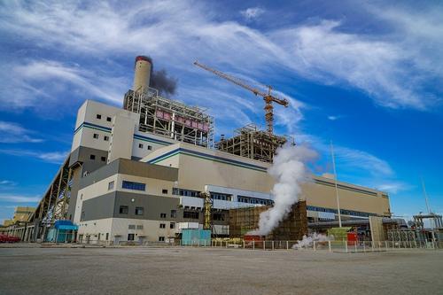 国家电投参建的中电胡布2×660MW燃煤发电项目并网发电