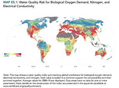 世界银行发布《未知的质量:无形的水危机》报告称全球正面临水质危机