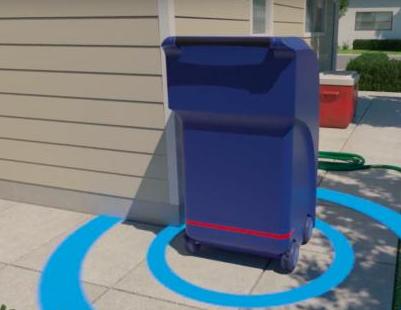 无人驾驶垃圾箱:走街串巷定时汇合垃圾车