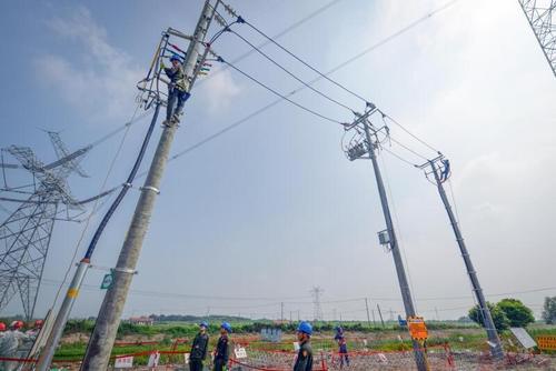 全国首条跨省配网联络线正式竣工投运