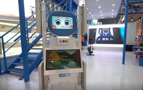 """""""迪宝""""首发!为全球首款RFID智能盘点机器人"""