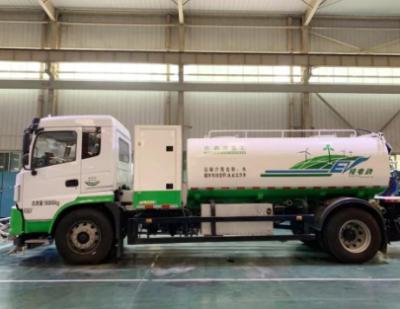 森源纯电动环卫全系产品—18吨清洗车 续航强劲双枪快充