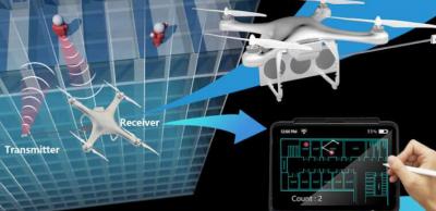 新型无人机无线扫描系统WideSee 能够穿透半米厚混凝土墙