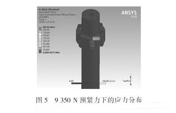 仿真分析螺栓连接件:为复杂机械中螺栓连接结构的简化提供参考方法