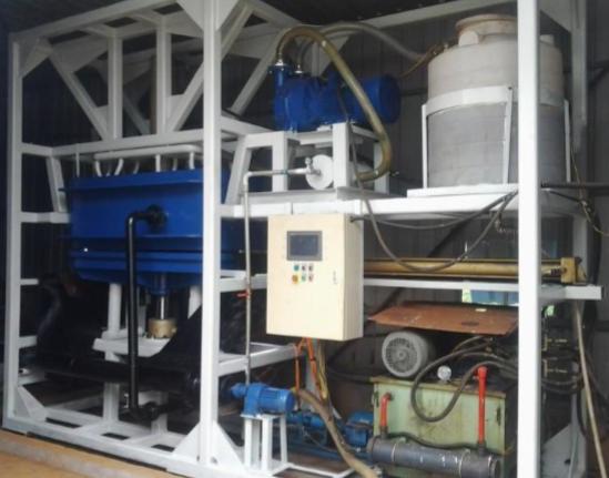 新型高效污泥快速脱水机及常温干化一体化集成系统生产线技术