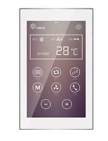 乐珂达 超薄5寸彩屏触摸面板 LKD-BUS/LKD-TS05.02智能照明控制系统面板/智能触摸面板