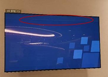 LG:OLED电视出现烧屏迹象