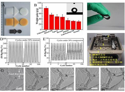 CNT泡沫材料的制备和应用研究进展