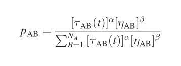 蚂蚁算法计算公式一