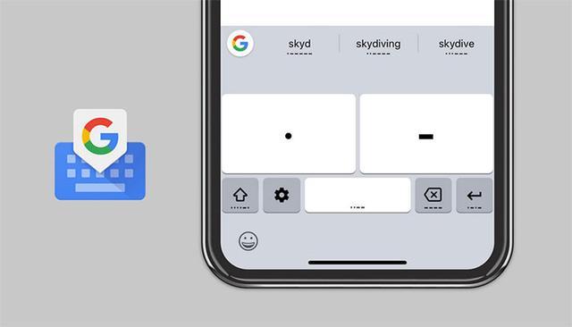 Google输入法加入摩斯密码键盘,让障碍人士也能轻松打字