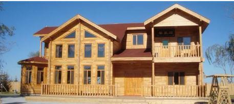 中加绿色——国内首个低碳智能型绿色现代木结构产业园