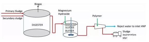 添加氢氧化镁优化污泥脱水及磷去除【荷兰海牙Harnaschpolder污水厂案例】