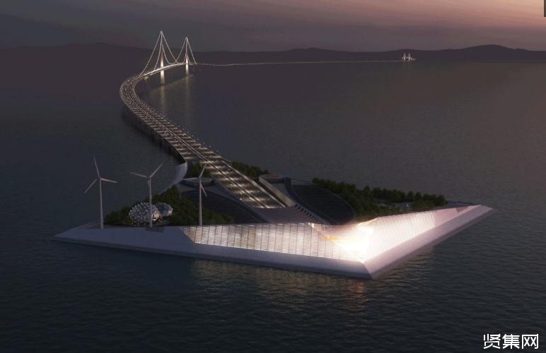 深中通道——海上超级工程,连接广东深圳和中山的大桥,全长约24公里