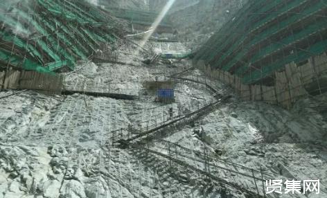 国内首个百万千瓦级EPC水电项目杨房沟水电站坝基开挖完成