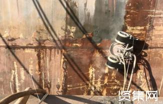 浙大研发的除锈爬壁机器人,具有废水回收功能