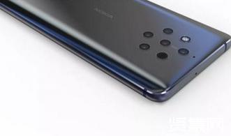 Nokia 9渲染图曝光:采用全面屏设计,后置五摄