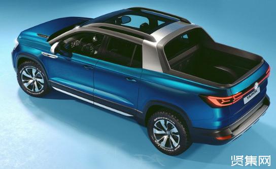 大众汽车在巴西发布全新Tarok紧凑型概念皮卡