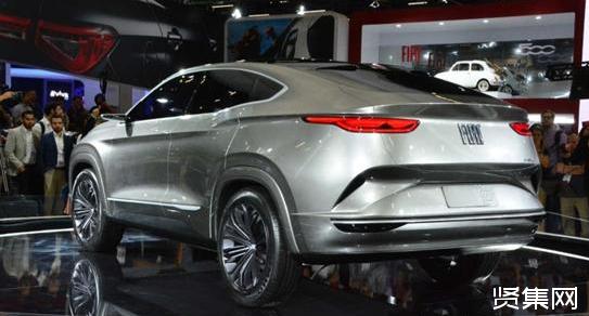 菲亚特在巴西发布Fastback Concept轿跑SUV概念车