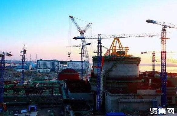 """""""华龙一号""""示范工程福清核电6号机组由土建阶段进入安装阶段"""