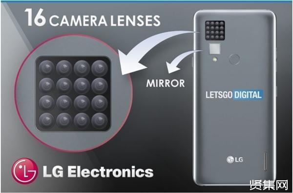 LG近日获得16颗摄像头专利,是目前最多的手机镜头数量