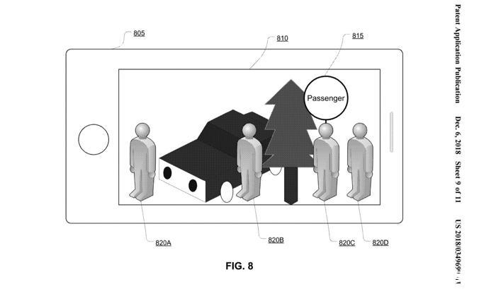 苹果申请新专利:利用AR帮助网约车乘客与司机之间互相识别