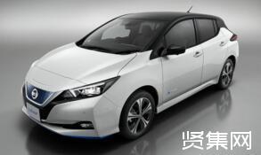 聆风电动汽车升级版Leaf e+揭幕仪式在日本横滨举行