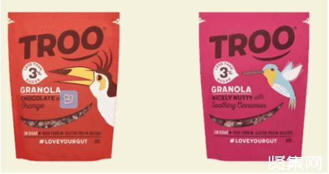 肠道健康品牌Eat Troo推出格兰诺拉麦片和菊粉糖浆Troo Spoon