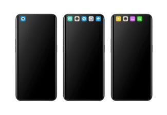 "WIPO数据库收录了OPPO""手机带app图标界面""的外观设计专利"