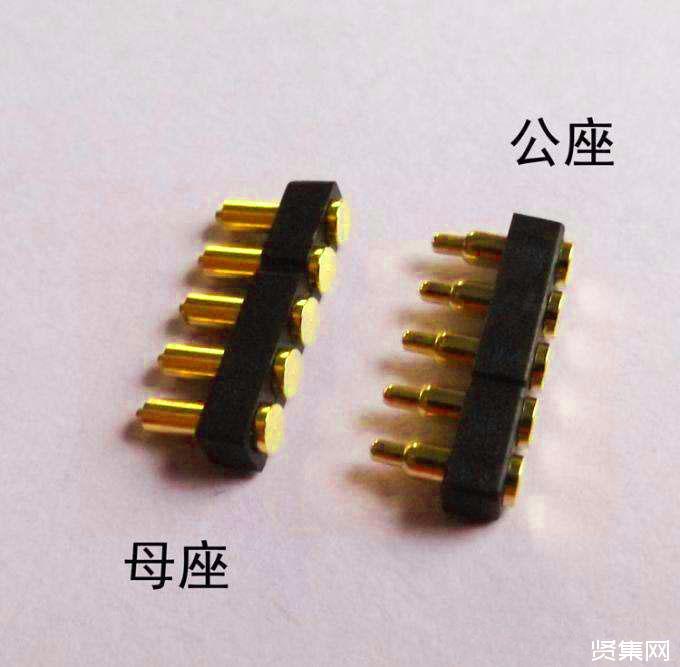 pogo pin连接器的公母座起到什么作用?