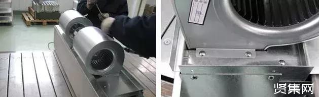 风机盘管组装全过程及风机盘管的3种接线方式