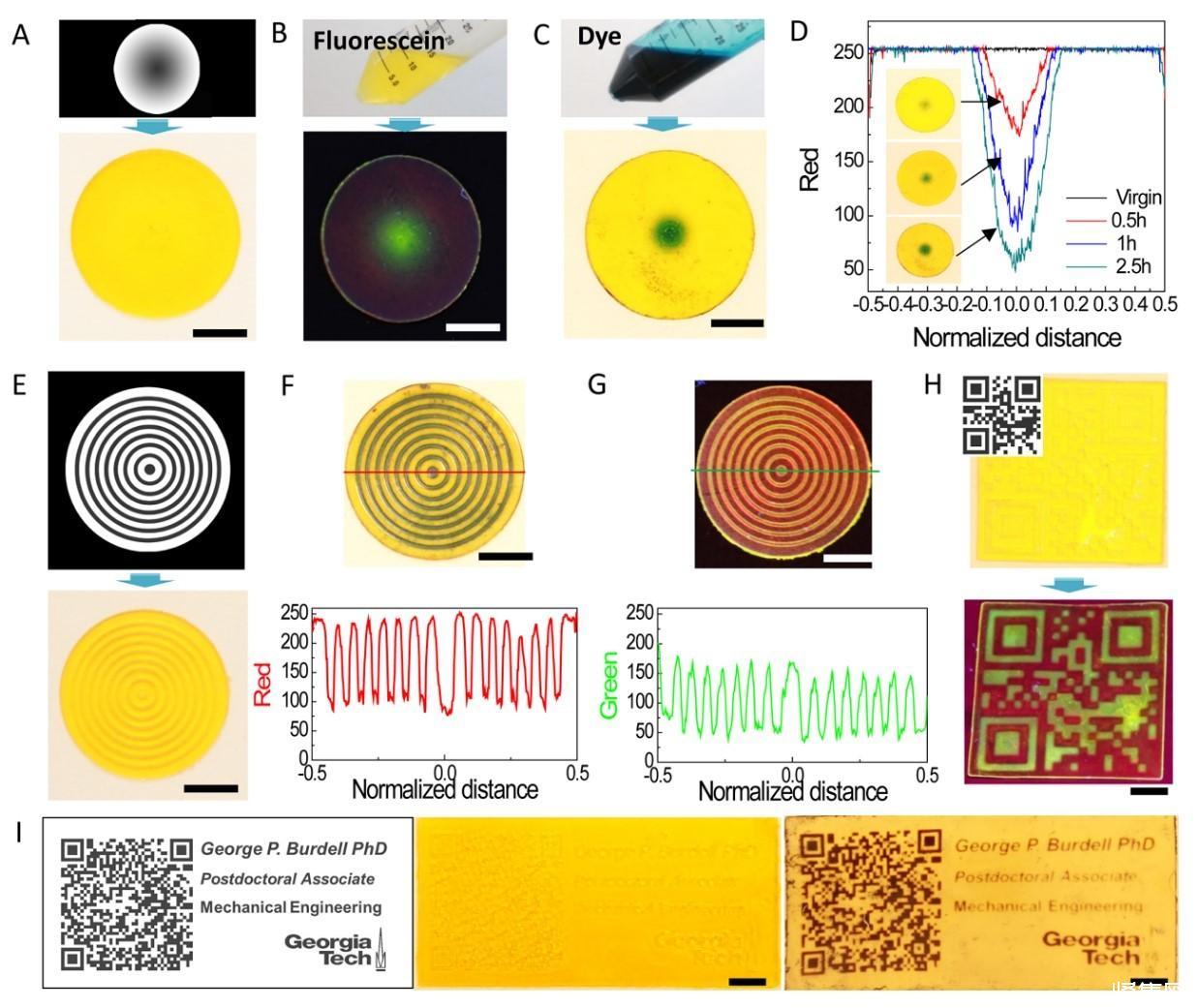 《Science》子刊:灰度数字光处理3D打印高度功能化梯度材料