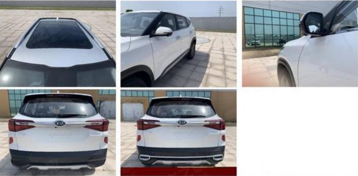 国产全新起亚KX3申报图曝光 新车将于成都车展首发