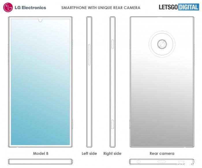 LG四摄手机专利曝光:绕闪光灯排列