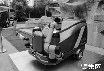 自动作业遇人停下 5G无人驾驶环卫机器人编队亮相星城