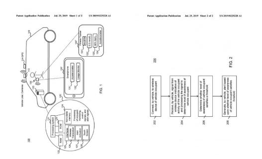 Rivian公布一项专利申请:自动驾驶汽车乘员认知监控系统
