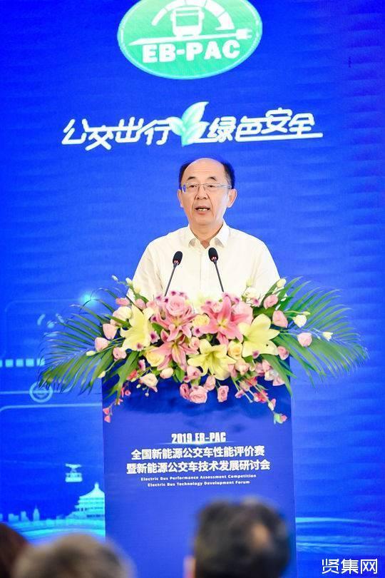 亚博-交通运输部总工程师周伟:加快完善落实新能源新车动力电池回收